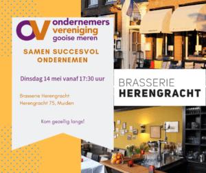 SSO Brasserie Herengracht